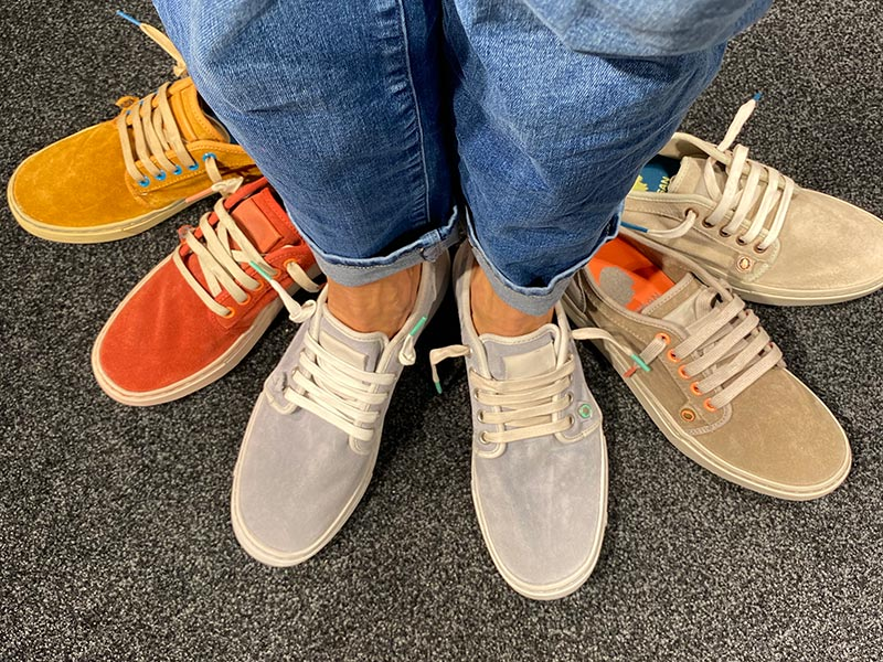 Seitensprung Schuhe
